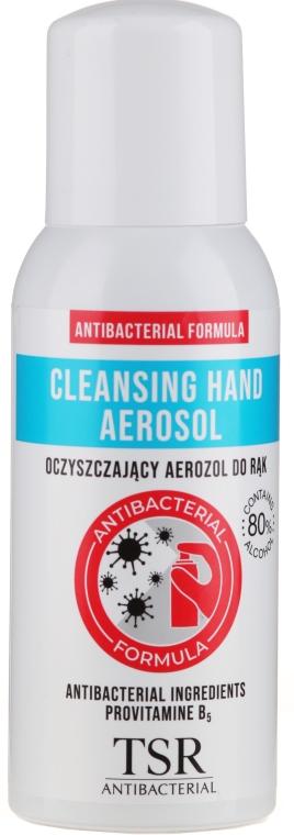 Antibakteriálny sprej na ruky - TSR Antibacterial Cleansing Hand Aerosol