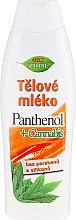 Voňavky, Parfémy, kozmetika Telový lotion - Bione Cosmetics Pantenol + Cannabis Body Lotion