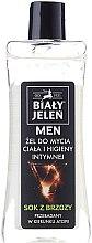 Voňavky, Parfémy, kozmetika Hypoalergénne gél pre telo a intímnu hygienu 2v1 - Bialy Jelen Hypoallergenic Body Gel and Intimate Hygiene 2in1