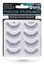 Voňavky, Parfémy, kozmetika Falošné riasy - Ardell Natural Multipack Black 110