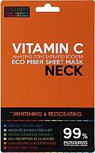 Voňavky, Parfémy, kozmetika Expresná maska na krk - Beauty Face IST Whitening & Restorating Neck Mask Vitamin C