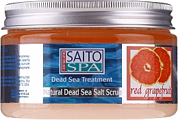 """Voňavky, Parfémy, kozmetika Soľný telový scrub """"Červený grapefruit"""" - Saito Spa Salt Body Scrub Red Grapefruit"""