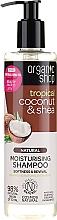 """Voňavky, Parfémy, kozmetika Šampón na vlasy """"Kokos a olej shea"""" - Organic Shop Coconut Shea Moisturising Shampoo"""