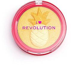 Voňavky, Parfémy, kozmetika Rozjasňovač - I Heart Revolution Fruity Highlighter Pineapple