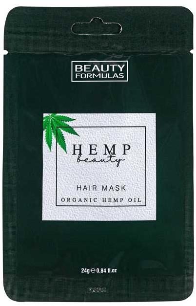 Maska na vlasy - Beauty Formulas Hemp Beauty Hair Mask