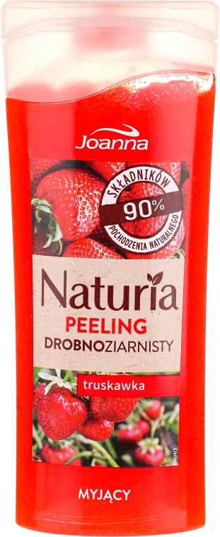 """Sprchový peeling jemnozrnný """"Jahoda"""" - Joanna Naturia Peeling"""