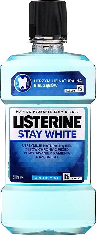 """Ústna voda """"Biele zuby"""" - Listerine Stay White"""