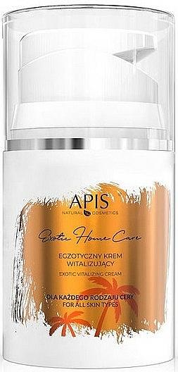 Krém na tvár - Apis Professional Exotic Home Care Vitalizing Cream