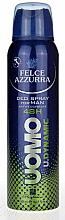 Voňavky, Parfémy, kozmetika Dezodoračný antiperspirant - Felce Azzurra Deo Uomo Dynamic