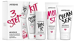 Voňavky, Parfémy, kozmetika Sada - Artemis of Switzerland Skinlove 3 Step Daily Routine Kit (face/gel/30ml+face/tonic/30ml+gel/cr/20ml)