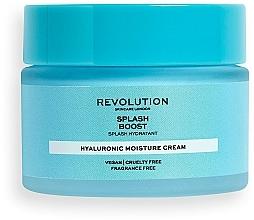 Voňavky, Parfémy, kozmetika Hydratačný pleťový krém s kyselinou hyalurónovou - Revolution Skincare Splash Boost with Hyaluronic Acid