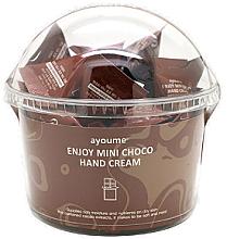 """Voňavky, Parfémy, kozmetika Krém na ruky """"Čokoláda"""" - Ayoume Enjoy Mini Choco Hand Cream"""