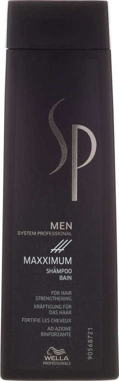 """Šampón """"Maximum"""" proti vypadávaniu vlasov - Wella SP Men Maxximum Shampoo"""