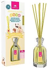 """Voňavky, Parfémy, kozmetika Aromatický difuzér proti vône domácich miláčikov """"Biele kvety"""" - Cristalinas Reed Diffuser"""