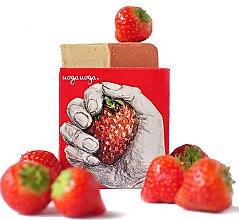 Voňavky, Parfémy, kozmetika Prírodné mydlo s jahodovým extraktom - Uoga Uoga Strawberry! Soap