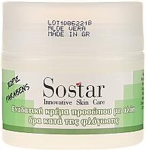 Voňavky, Parfémy, kozmetika Hydratačný krém na tvár s aloe vera - Sostar Moisturizing Face Cream With Aloe Vera