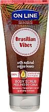 Voňavky, Parfémy, kozmetika Scrub na telo - On Line Senses Body Scrub Brasilian Vibes