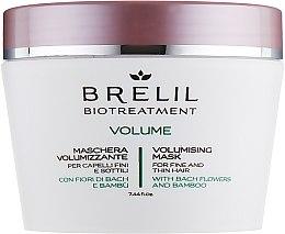 Voňavky, Parfémy, kozmetika Maska na dodanie objemu - Brelil Bio Treatment Volume Hair Mask