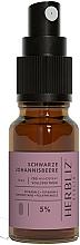 """Voňavky, Parfémy, kozmetika Olejový ústny sprej """"Čierne ríbezle"""" 5% - Herbliz CBD Oil Mouth Spray 5%"""
