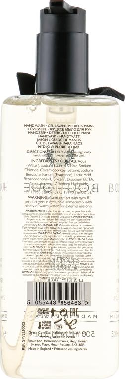 """Tekuté mydlo """"Grapefruit a Vervain"""" - Grace Cole Boutique Grapefruit & Verbena Hand Wash  — Obrázky N2"""