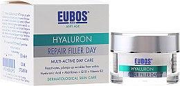 Voňavky, Parfémy, kozmetika Multiaktívny krém na tvár - Eubos Med Anti Age Hyaluron Repair Filler Day Cream