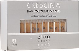 Voňavky, Parfémy, kozmetika Lotion na stimuláciu rastu vlasov pre žien 2100 - Crescina Hair Follicular Island 2100 Woman