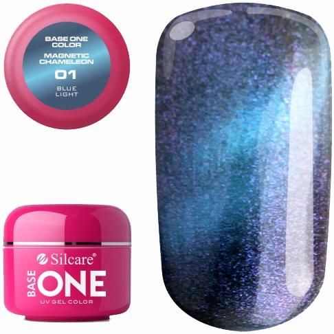 Gél na nechty - Silcare Base One Magnetic Chameleon UV Gel Color
