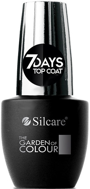Top na nechty - Silcare The Garden of Colour Top Coat 7days