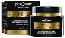 Voňavky, Parfémy, kozmetika Nočný krém na tvár - Postquam Luxury Gold Regenerating Night Cream