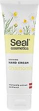 Voňavky, Parfémy, kozmetika Zmäkčujúci krém na ruky s harmančekom - Seal Cosmetics Soothing Hand Cream