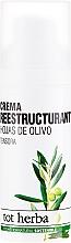 Voňavky, Parfémy, kozmetika Hydratačný denný krém na tvár - Tot Herba Crema Restructuring Cream of Olive Leaves