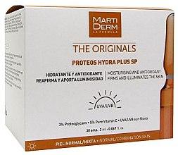 Voňavky, Parfémy, kozmetika Ampulky na tvár s ochranou pred slnkom - MartiDerm The Originals Proteos Hydra Plus SP