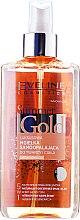 Voňavky, Parfémy, kozmetika Sprej na tvár a telo 5v1 - Eveline Cosmetics Summer Gold Spray