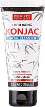 Voňavky, Parfémy, kozmetika Čistiaci gél na tvár - Beauty Formulas Exfoliating Konjac Facial Cleanser