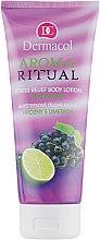 """Mlieko antistresové telo """"Hrozno a Lime"""" - Dermacol Body Aroma Ritual Stress Relief Body Milk — Obrázky N1"""
