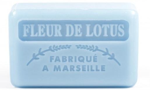 """Marselské mydlo """"Lotosový kvet"""" - Foufour Savonnette Marseillaise Fleur De Lotus"""