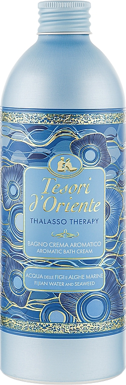 Gélová pena do kúpeľa - Tesori d`Oriente Thalasso Therapy Aromatic Bath Cream