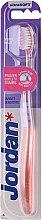 Zubná kefka Target, ultra mäkká, ružová - Jordan Target Sensitive Ultrasoft — Obrázky N1