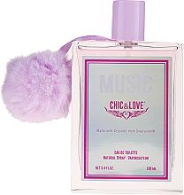 Voňavky, Parfémy, kozmetika Chic&Love Music - Toaletná voda
