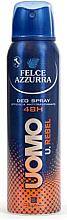 Voňavky, Parfémy, kozmetika Dezodoračný antiperspirant - Felce Azzurra Deo Rebel