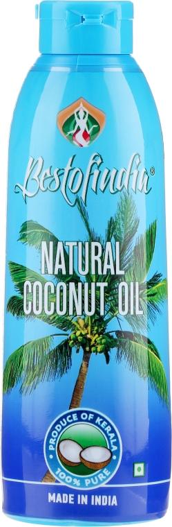 Prírodný kokosový olej z Kerala na vlasy a telo - Bestofindia Natural Coconut Oil