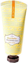 Voňavky, Parfémy, kozmetika Krém na ruky s bambuckým maslom - Welcos Around Me Happiness Hand Cream Shea Butter