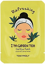 Voňavky, Parfémy, kozmetika Gélové náplasti na oči zo zeleného čaju - Tony Moly Refreshing Im Green Tea Eye Mask