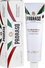 Voňavky, Parfémy, kozmetika Mydlo na holenie pre citlivú pokožku - Proraso Shaving Soap For Sensitive Skin