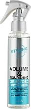 """Voňavky, Parfémy, kozmetika Sprej na vlasy """"Objem a výživa"""" - Joanna Styling Effect Volume & Nourishing Hair Spray"""