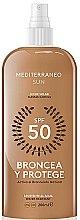 Voňavky, Parfémy, kozmetika Lotion na opaľovanie - Mediterraneo Sun Suntan Lotion SPF50