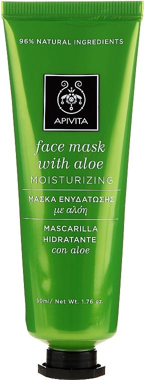 Hydratačná maska s aloe vera - Apivita Moisturizing Mask