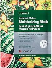 Voňavky, Parfémy, kozmetika Maska na tvár - Leaders 7 Wonders Kalahari Melon Moisturizing Mask