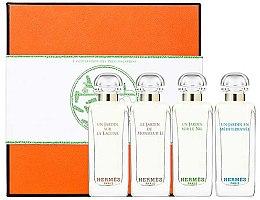 Voňavky, Parfémy, kozmetika Hermes Miniature Set Garden - Sada (edt/7.5ml + edt/7.5ml + edt/7.5ml + edt/7.5ml)