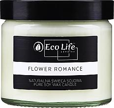 Voňavky, Parfémy, kozmetika Vonná sviečka Kvetinová romanca - Eco Life Candles